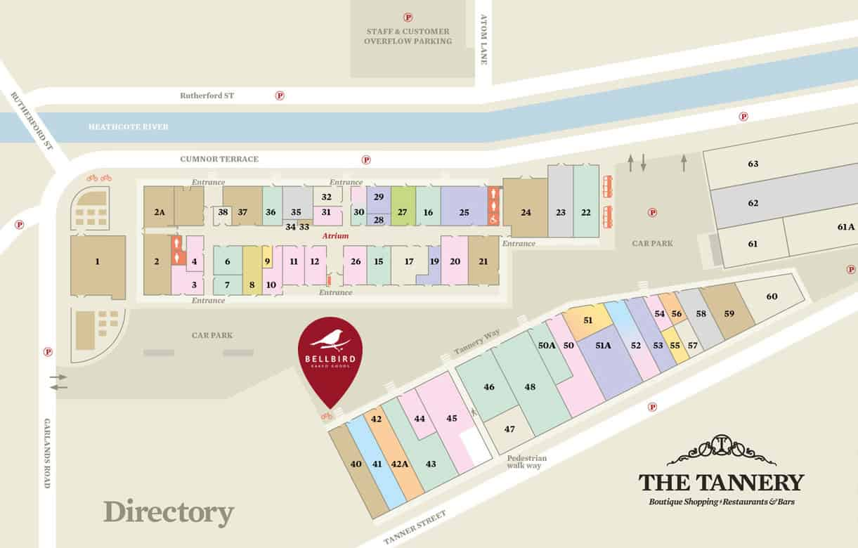 Tannery Map Directory